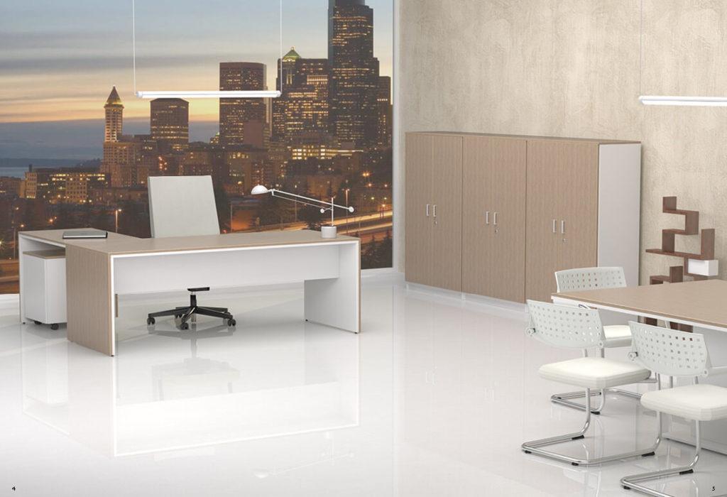 Muebles de despacho serie style decoraoficina for Muebles para despacho