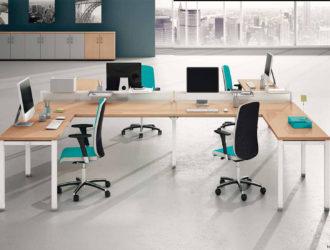 Muebles de Oficina Serie TECHNO