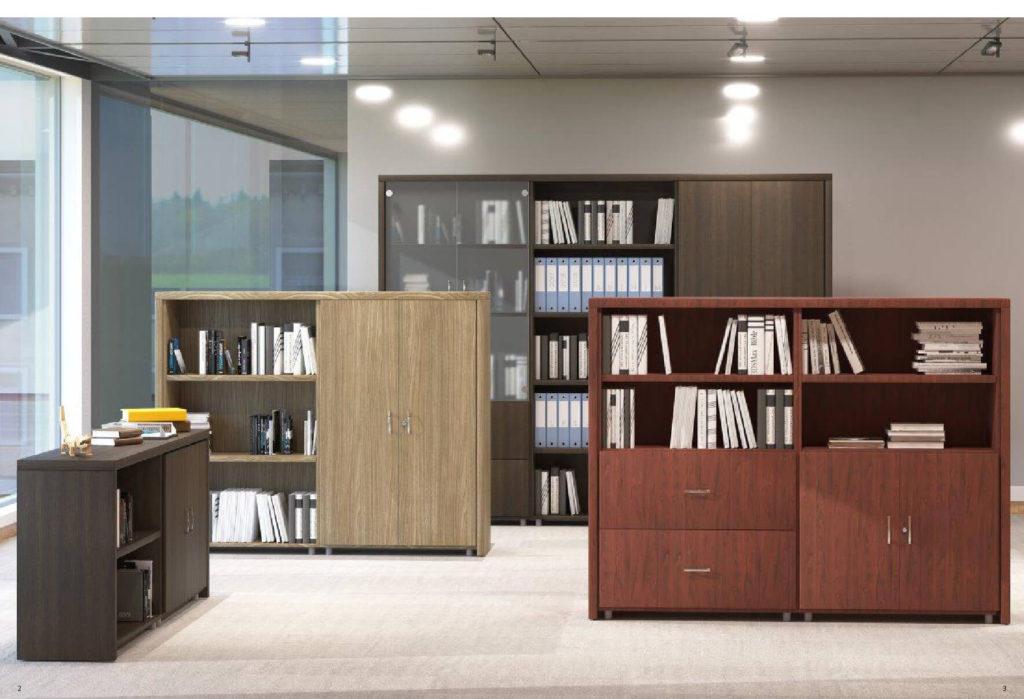 Muebles de oficina serie logic l librerias decoraoficina for Muebles oficina ocasion