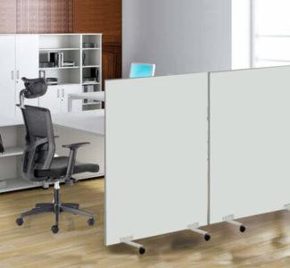 ¿Cuáles son los mejores paneles separadores para tu oficina?