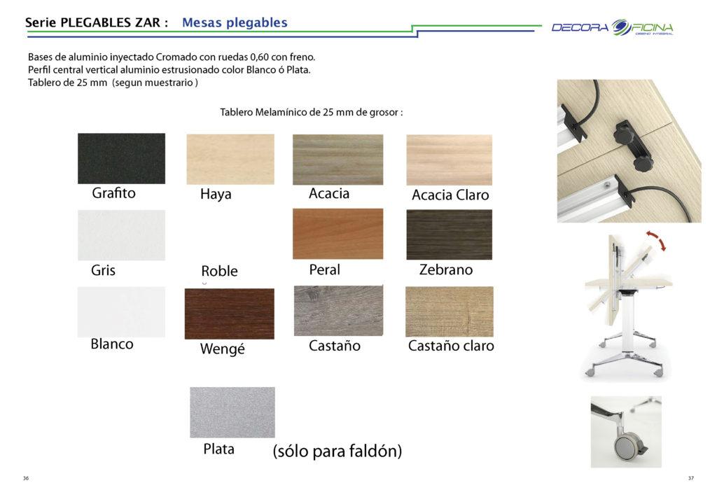 colores mesas Zar