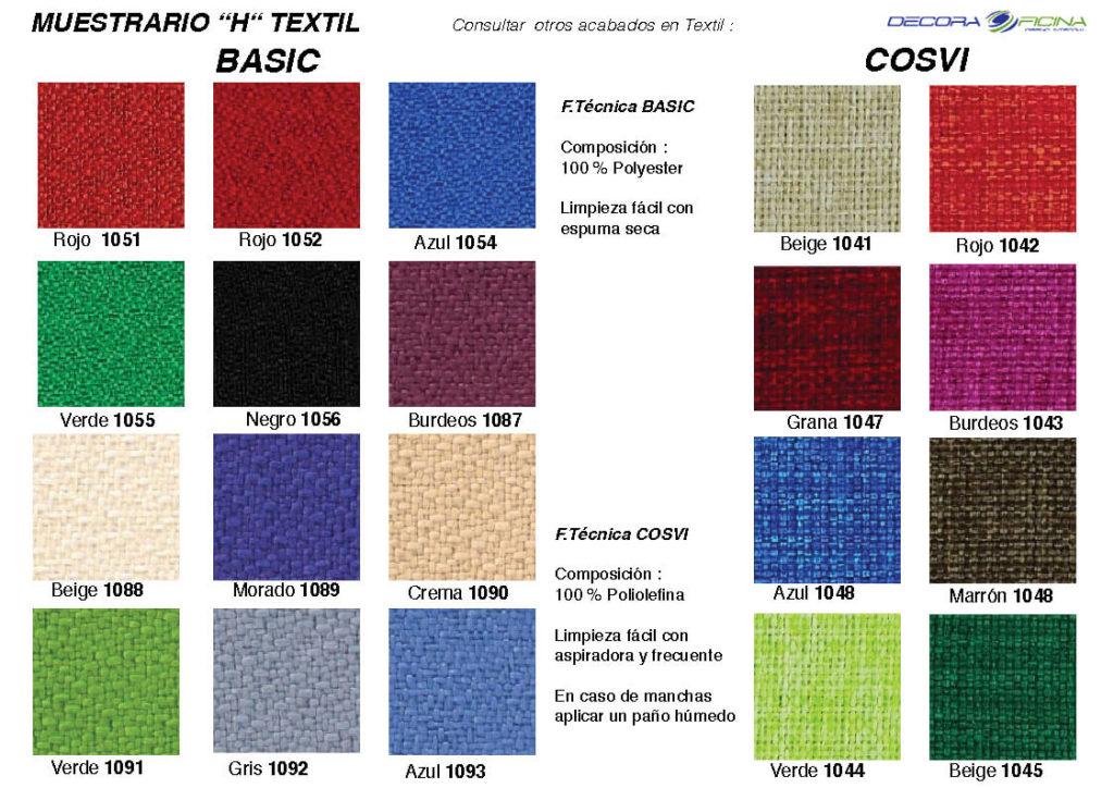 Muestrario H Textil