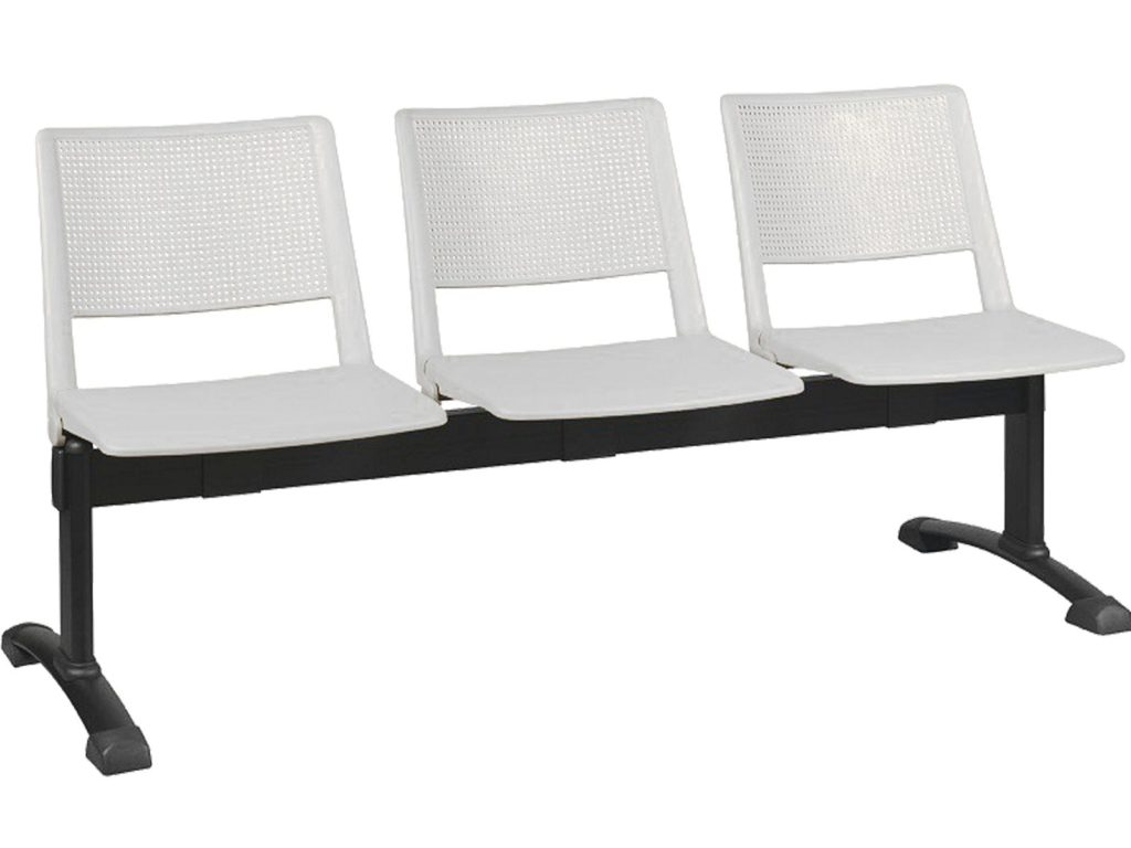 Bancadas de sala de espera serie victoria decoraoficina - Muebles para sala de espera ...