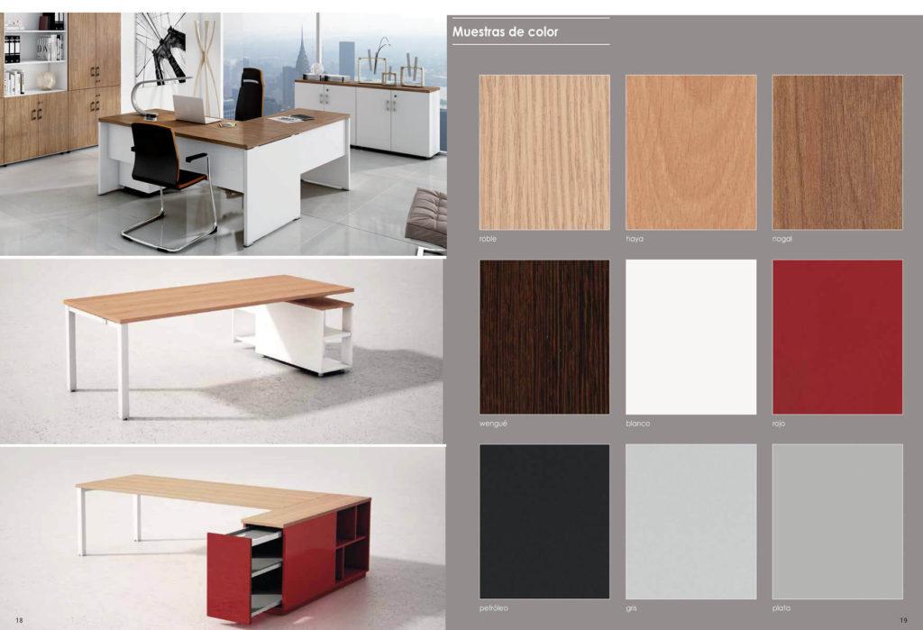Muebles de oficina serie techno 1020 decoraoficina for Muebles de oficina 2000