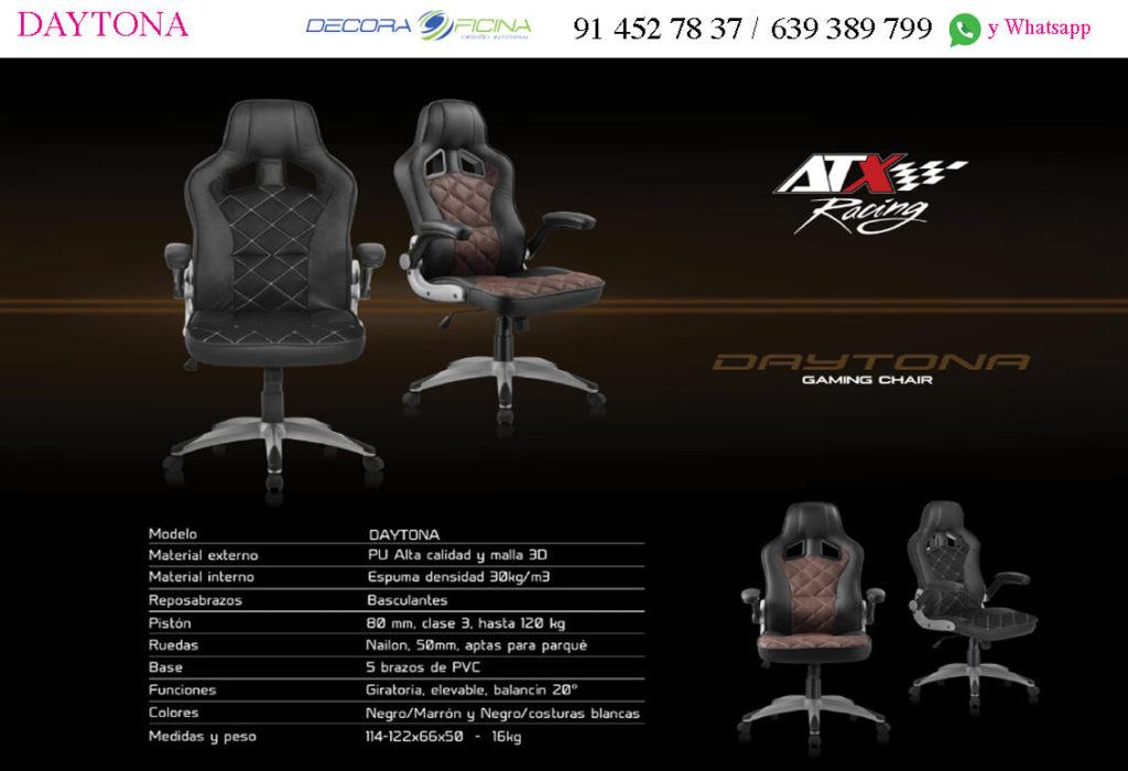 Silla Gaming Daytona ficha