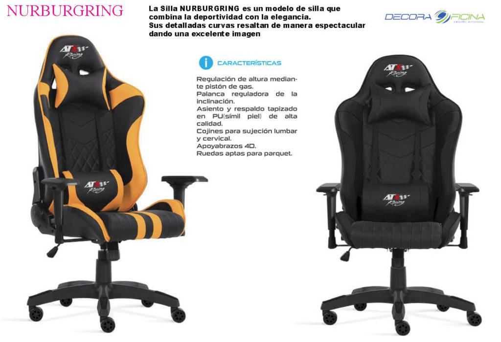 Sillas Gaming Nurbur1