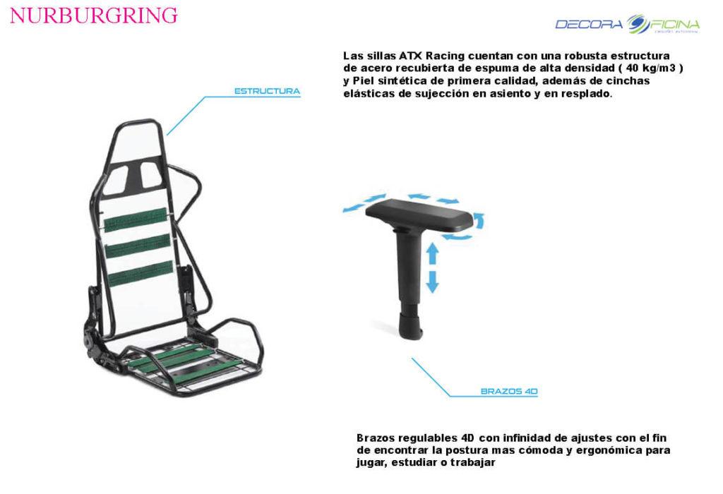 Sillas Gaming Nurbur4