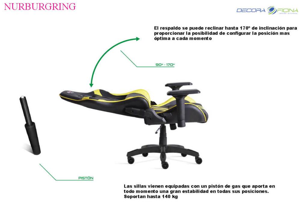 Sillas Gaming Nurbur3