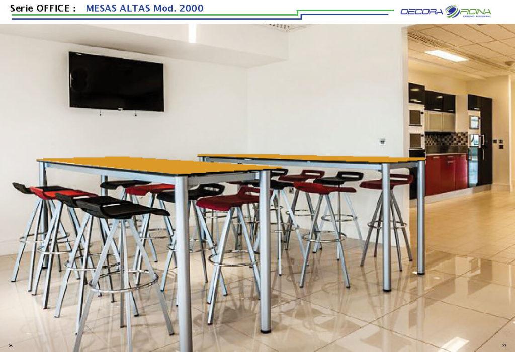 Mesas Altas Office 2000 10