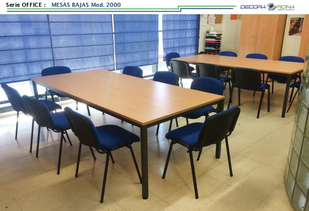Mesas Office 2000B 6
