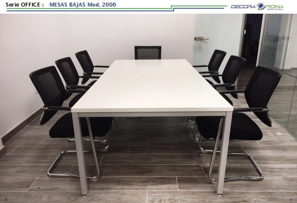 Mesas Office 2000B 8