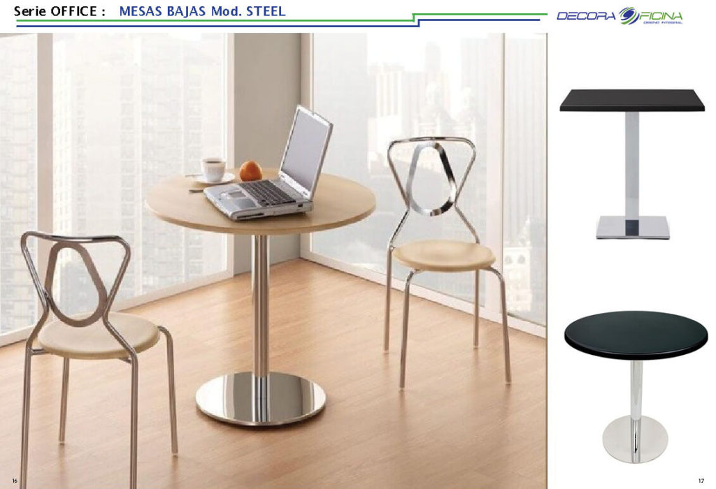 Mesas Office Steel 4