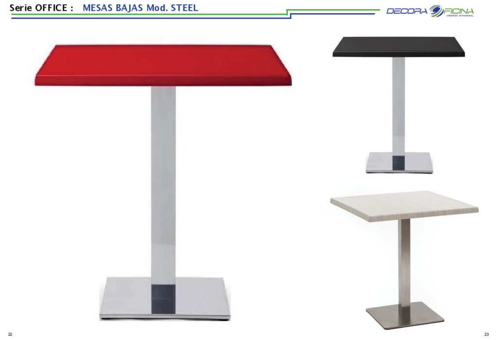 Mesas Office Steel 7
