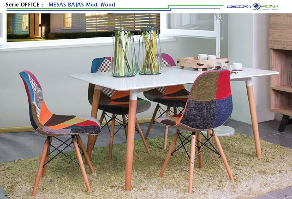 Mesas Office Wood 4