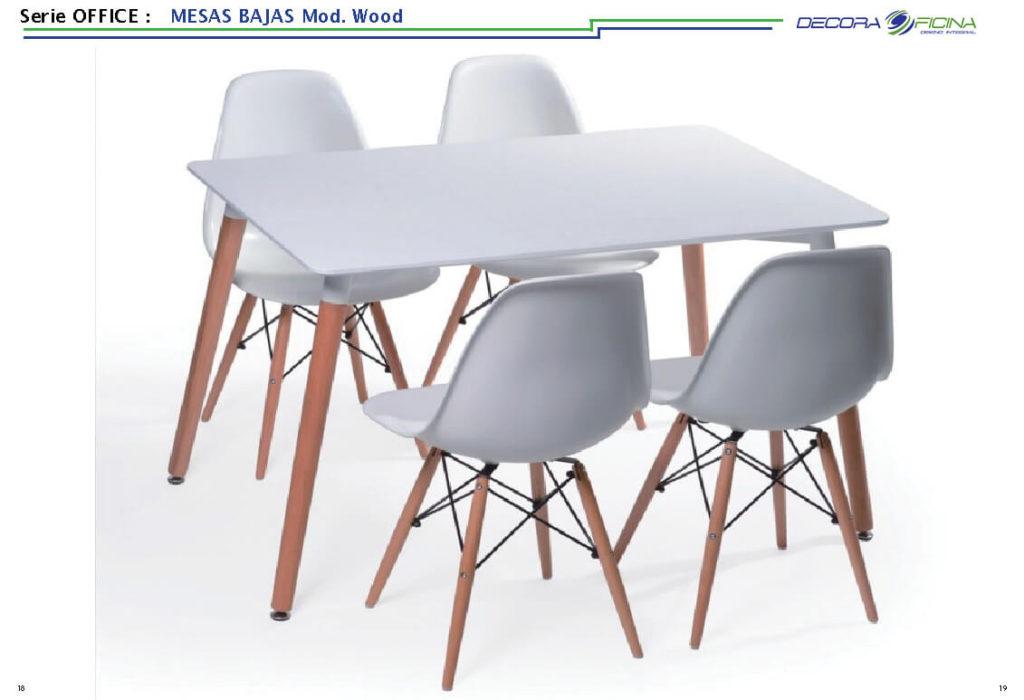 Mesas Office Wood 5
