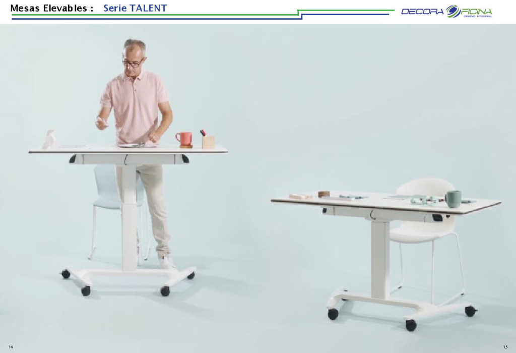 Mesas Elevables Talent 2