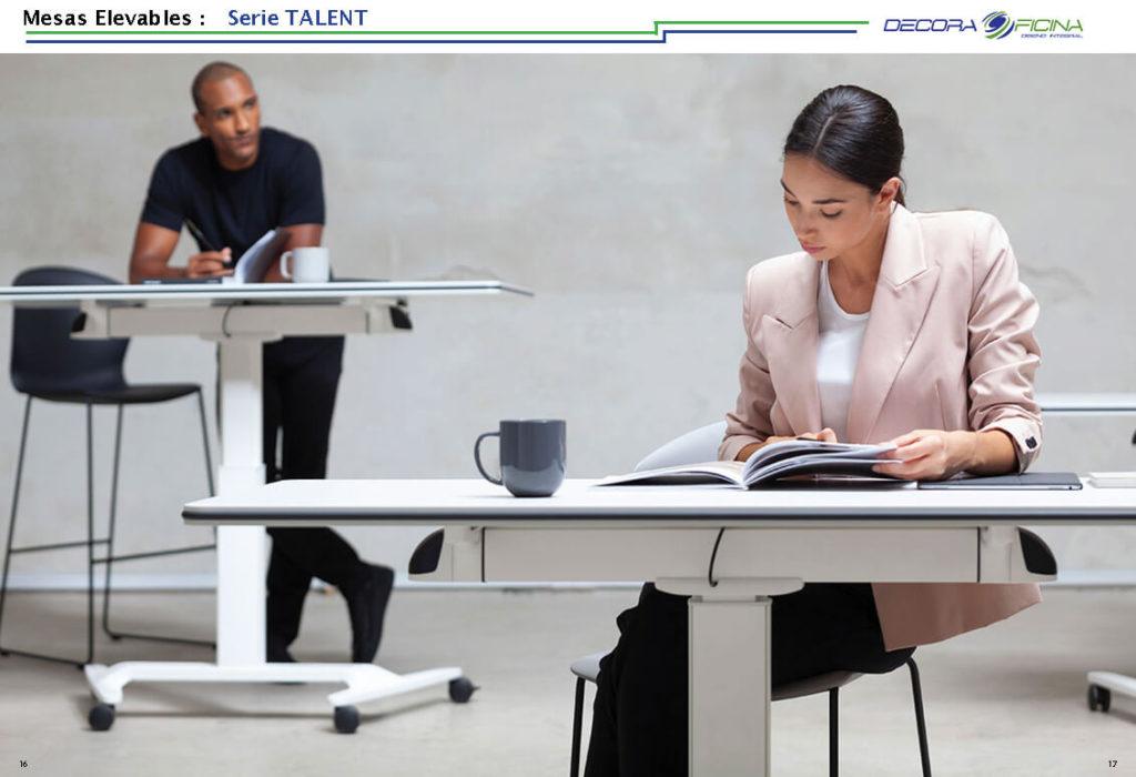 Mesas Elevables Talent 3
