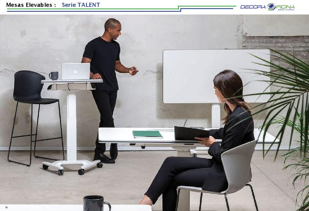 Mesas Elevables Talent 4