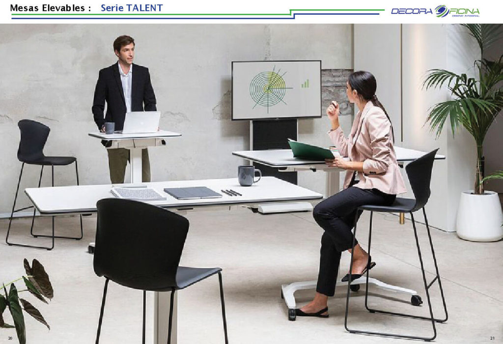 Mesas Elevables Talent 5