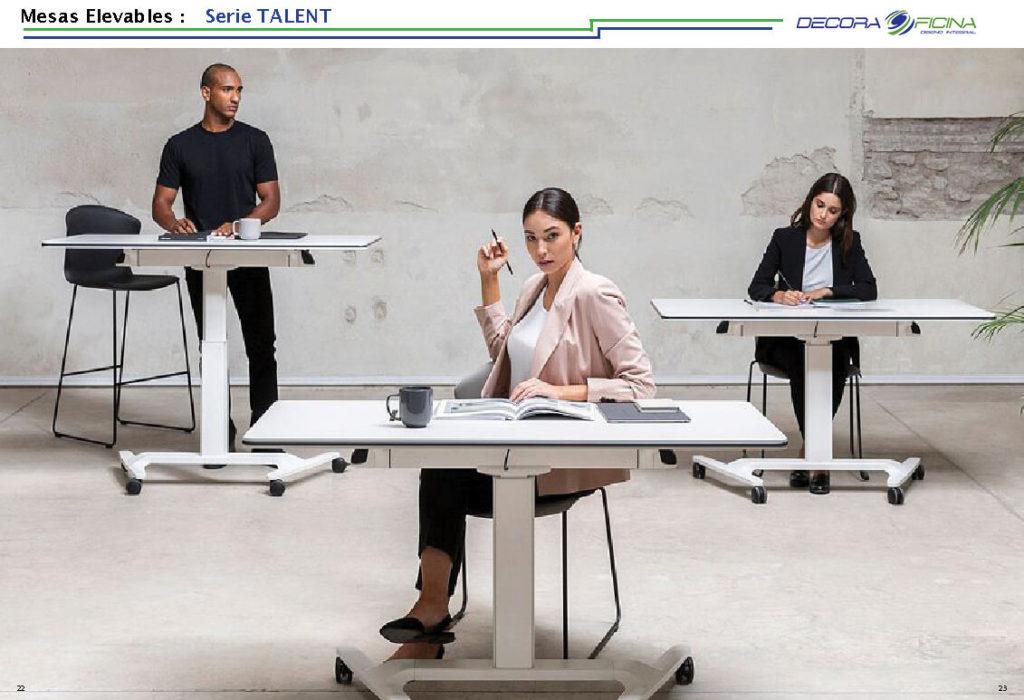 Mesas Elevables Talent 6