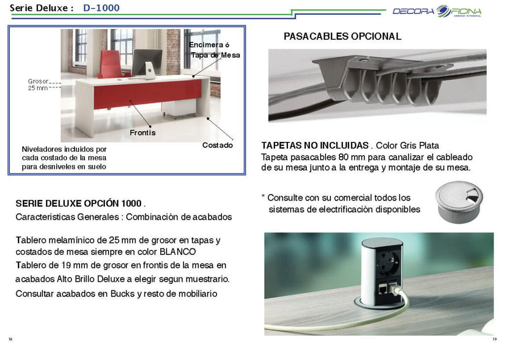 Ficha Deluxe 1000