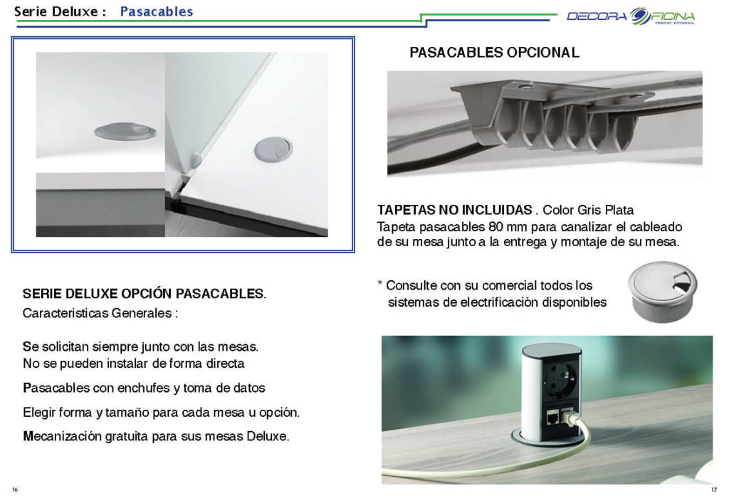 Deluxe Pasacables 8