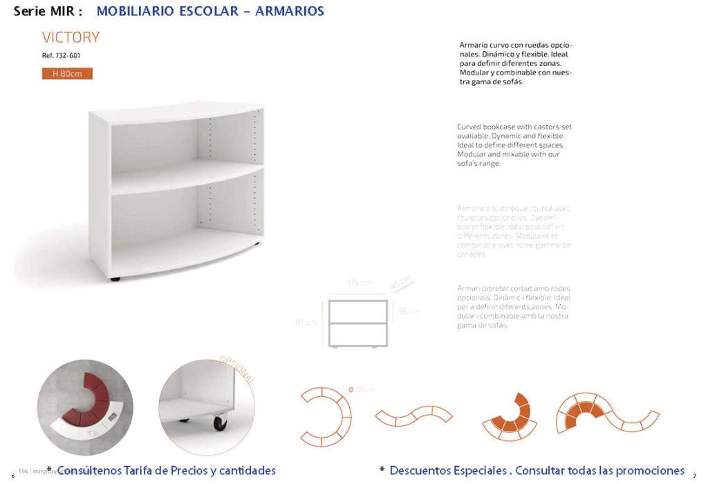 armario escolar Mir 02