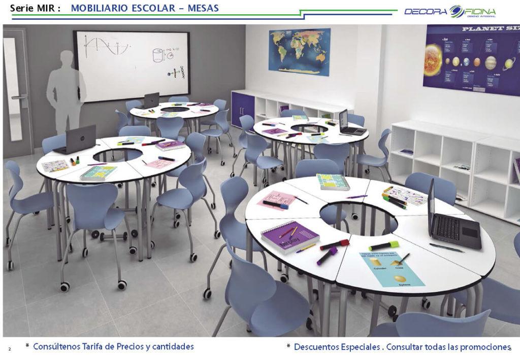 mesa escolar mir 01