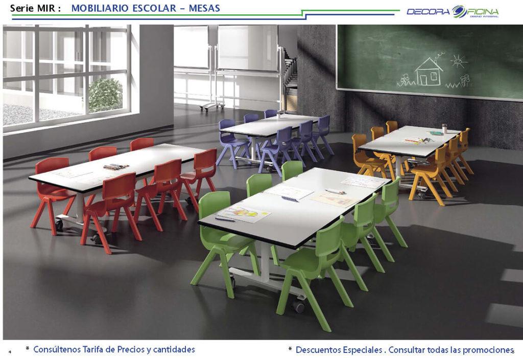 mesa escolar mir 02