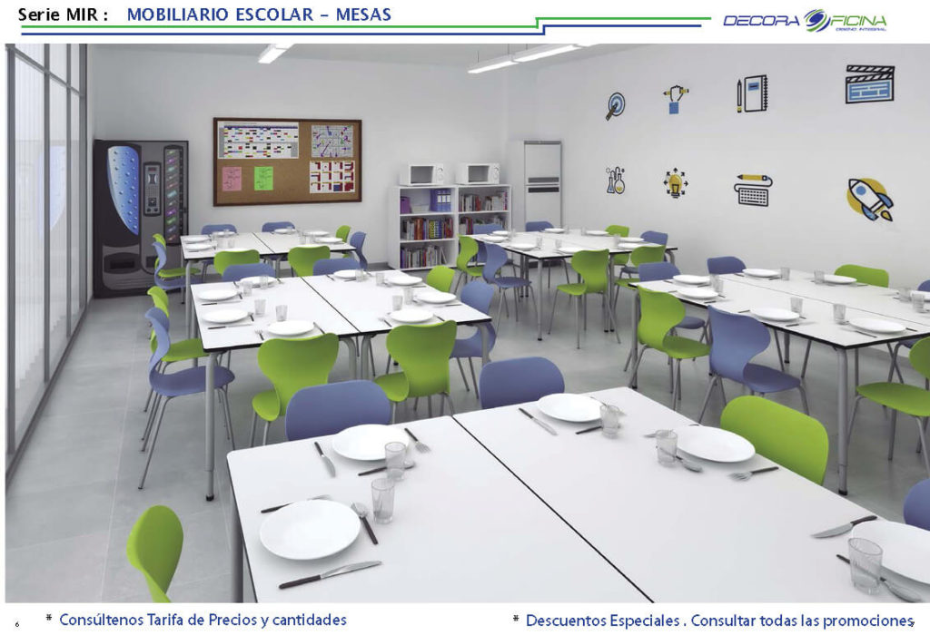mesa escolar mir 03