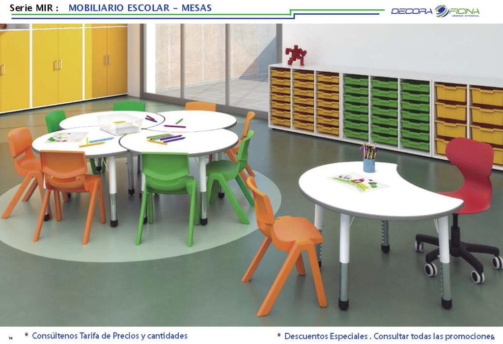 mesa escolar mir 07