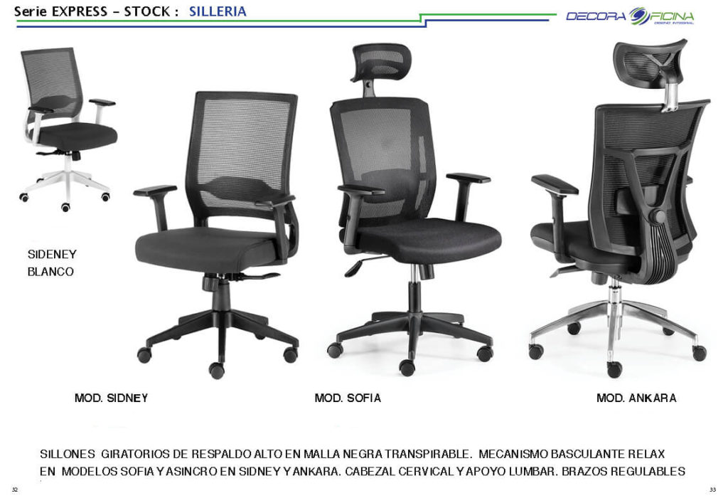 Sillas Stock Express 04