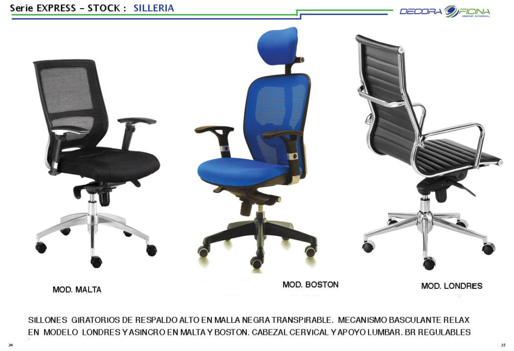 Sillas Stock Express 05