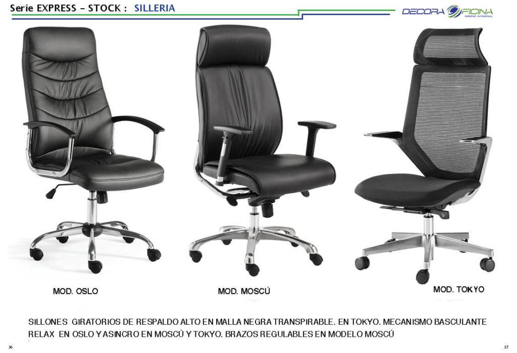 Sillas Stock Express 06